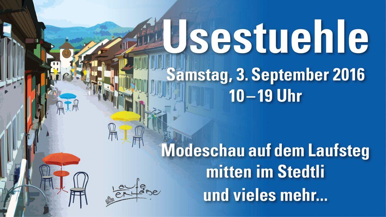 """Use Stuelete"" im Stedtli"